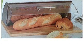 boite à pain secret de gourmet inox