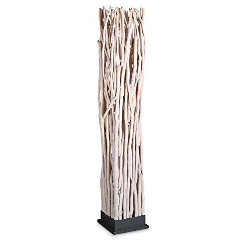 relaxdays lampadaire intérieur design marque bois